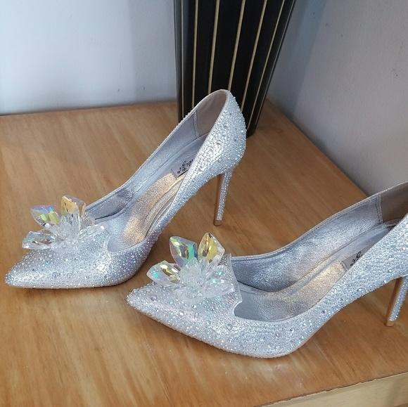 Shoes | Jimmy Choo Glass Slipper Knock